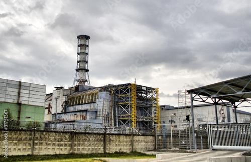 Fotografie, Obraz  Chernobyl nuclear power station