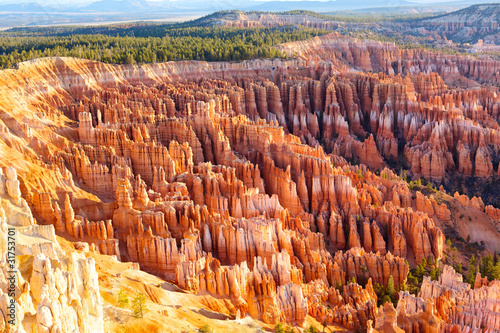 Bryce Canyon National Park at sunrise, Utah, USA Wallpaper Mural