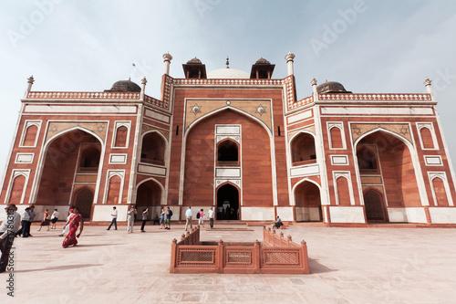 In de dag Delhi Jama Masjid, Delhi, Indie