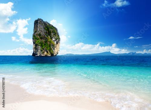 Fototapeta Poda island in Krabi Thailand