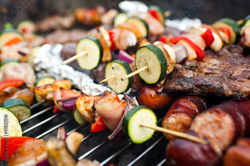 Foto op Canvas Grill / Barbecue BBQ