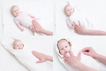 wie wird ein Baby gepuckt