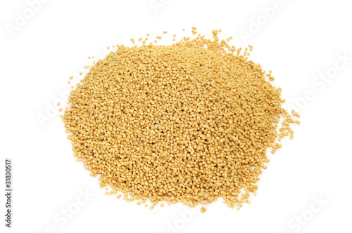 Photo soy lecithin granules