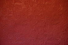 Rust Colored Embossed Paper
