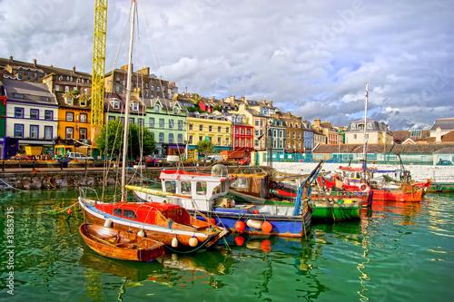 Fotografie, Obraz  Cobh in Ireland