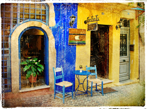 pictorial old streets of Greece - Chania, Crete - 31878997