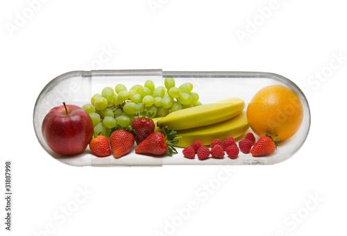 Fotografia  Vitamin pill