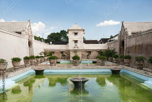 Foto op Plexiglas Indonesië interior pond of palace in surakarta solo indonesia