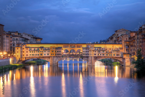 Foto op Canvas Florence Bridge in Florence, Italy