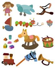 Cartoon Child Toy Icon