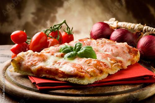 Obraz na plátne Pizza Margherita