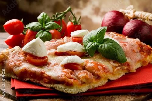 Fényképezés  Pizza Caprese