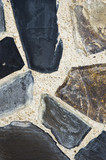 Modern art with stone.