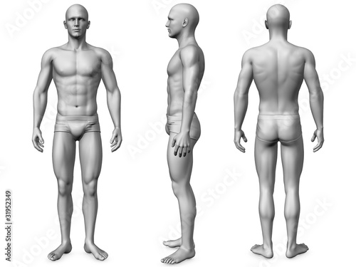 Obraz male body - fototapety do salonu