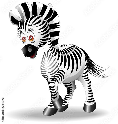 zebra-cartoon-vector