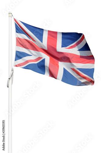 Photo Bandiera inglese isolata