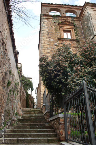 Cáceres. Casco histórico.