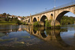 Beautiful Bridge of Ponte da Barca, ancient portuguese village,