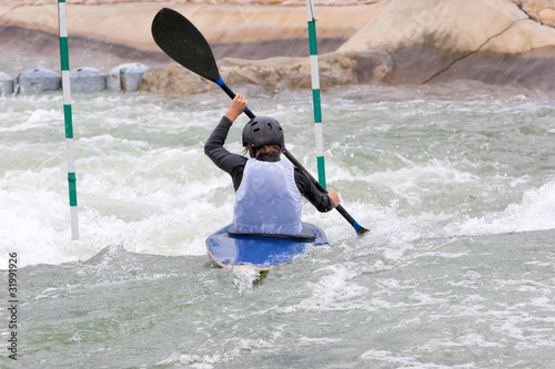 Fotografía  White Water Slalom