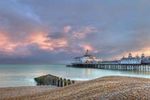 Eastbourne Pier Just Before Su...