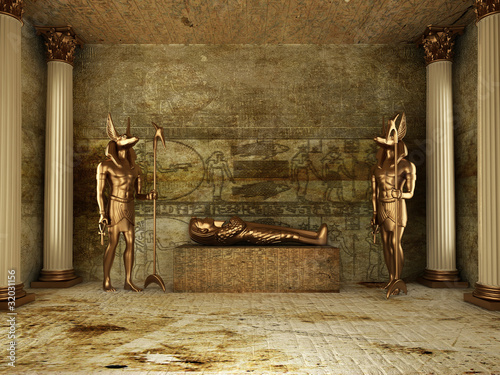 Pharaoh's Tomb Canvas Print
