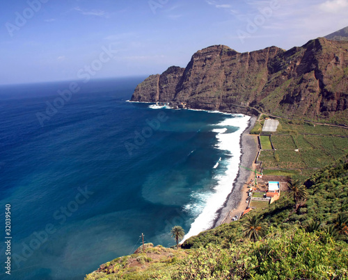 Fotografia  Landscape on La Gomera, Canary island,Spain