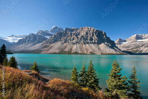 Foto op Canvas Canada Beatiful Bow Lake, Alberta, Canada