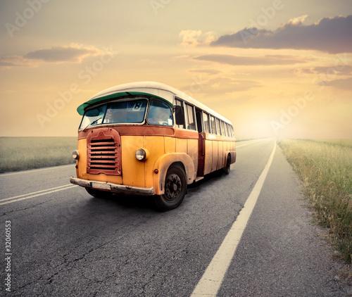 Keuken foto achterwand Vintage cars Van
