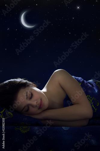 Photo  Girl sleeping