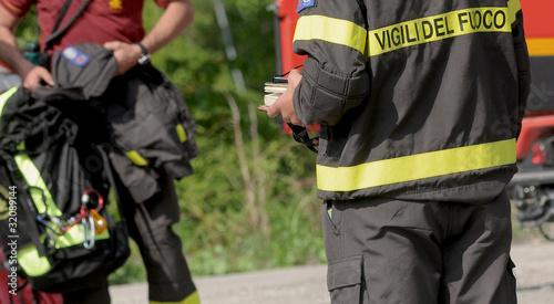 Fotografia  firefighters