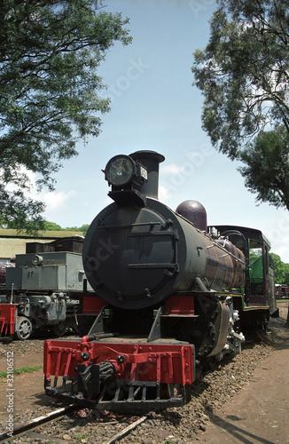 Fotografie, Tablou  Engine in the Railway Museum, Kenya, Nairobi