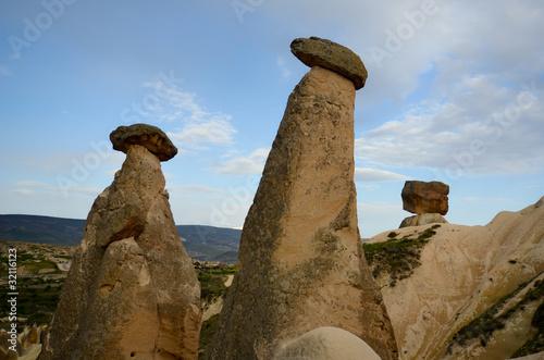 Les Cheminees De Fee De Cappadoce Buy This Stock Photo And Explore