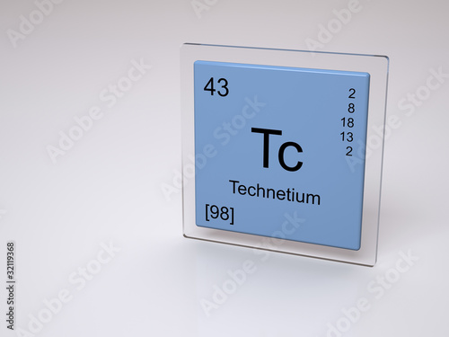 Technetium Symbol Tc Chemical Element Of The Periodic Table