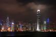 Hong Kong skyline and skyscraper