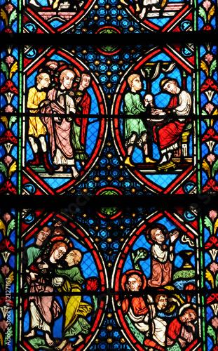In de dag Stained France, église de Maisons Laffitte
