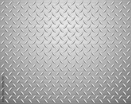Poster Metal diamond plate
