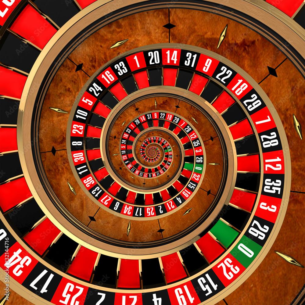 Fototapeta Spiral Roulette