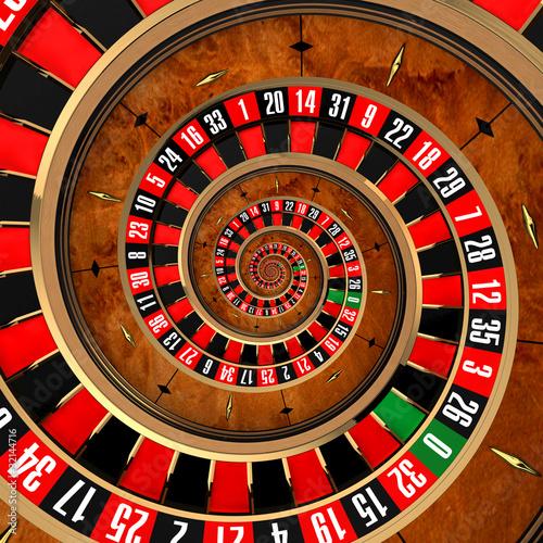 Fototapety, obrazy: Spiral Roulette