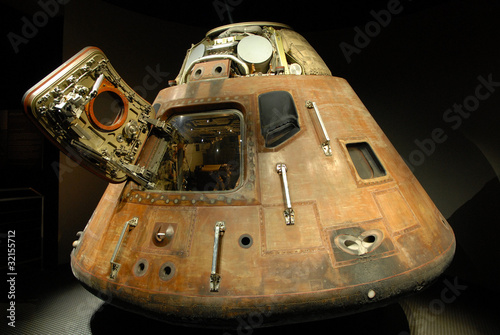 Photo  Apollo capsule