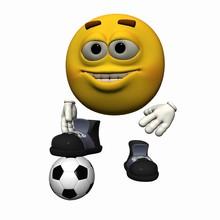 Fussball Smiley