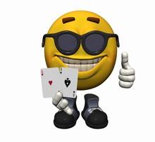 Poker Smiley Mit Aces