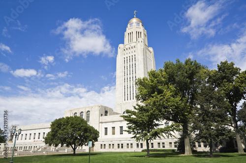 Fotografia  Lincoln, Nebraska - State Capitol Building