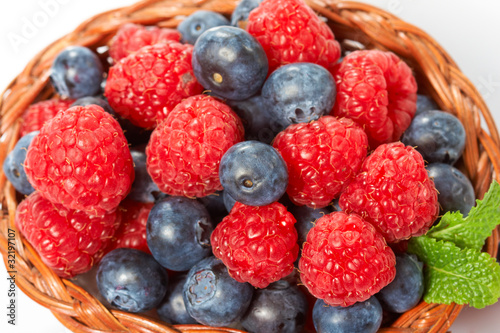 Canvas Prints Fruits fresh berries