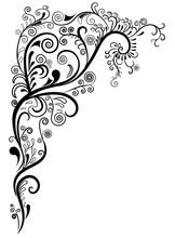 Decorative Angular Pattern Wit...