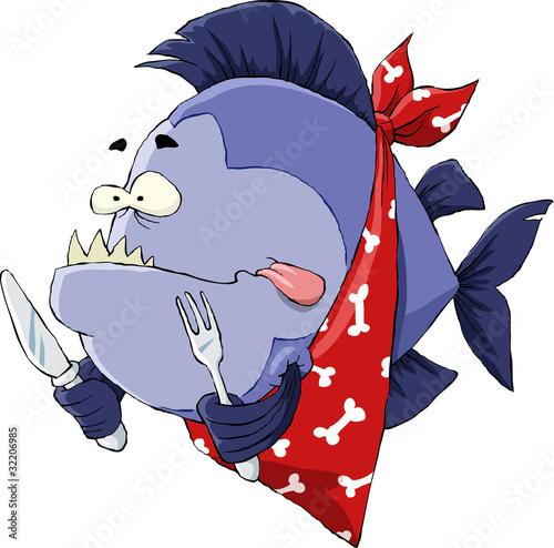 Valokuva  Hungry Piranha