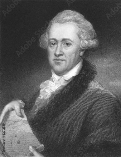 Frederick William Herschel Wallpaper Mural