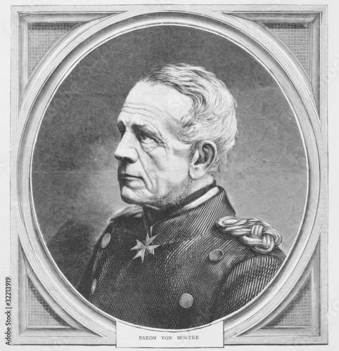 Photo Helmuth von Moltke the Elder