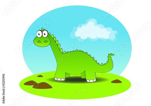 Tuinposter Dinosaurs Dino