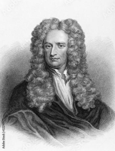 Fotografia, Obraz Isaac Newton
