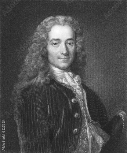 Voltaire Fototapet